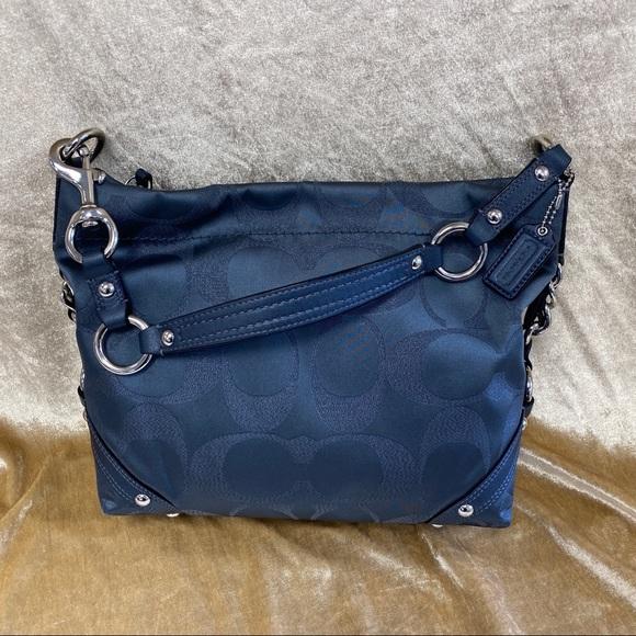 Coach Handbags - COACH CARLY SIGNATURE SATCHEL